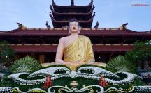 Trang nghiêm lễ an vị Phật tại chùa Thanh Tâm (Phật Cô Đơn)